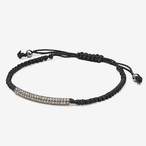 NEW Yarn Twisted Pave Bracelet